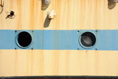 Portholes. Royalty Free Stock Photo