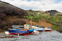 Porthoustock Cornwall Stock Image