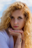 Porthret молодой женщины Стоковые Изображения