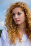 Porthret de la mujer joven Foto de archivo