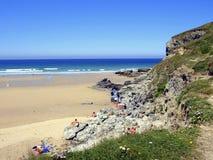 Porthtowan beach, Cornwall Royalty Free Stock Photography
