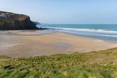 Porthtowan beach near St Agnes Cornwall England UK Royalty Free Stock Images