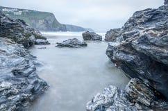 Porthtowan, Cornualha, Inglaterra Reino Unido Foto de Stock Royalty Free