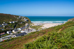 Porthtowan Cornwall Royalty Free Stock Photos