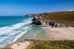 Porthtowan Cornwall Royalty Free Stock Photography