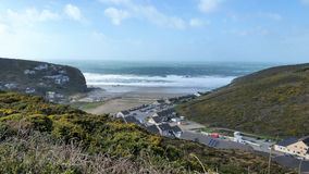 Porthtowan Nord-Cornwall Stockbild