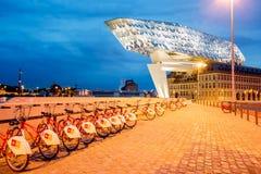 Porthus i Antwerpen Royaltyfria Foton