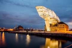 Porthus i Antwerpen Royaltyfri Fotografi