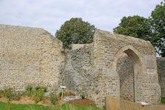 Porthus i sur Somme, Frankrike för St Valery arkivbilder