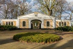 Porthus på den allmänna kyrkogården Parkweg Arkivbilder