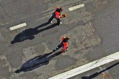 Porti di lavoro al fondo Fotografia Stock Libera da Diritti
