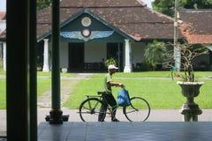Porti la bici Fotografia Stock