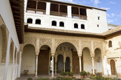 Portic of Generalife royalty free stock images
