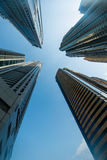 Porticciolo alto del Dubai Fotografia Stock Libera da Diritti