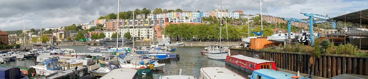 Porticciolo in Bristol Docks, Bristol, Regno Unito fotografie stock
