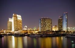 Porticciolo del centro di San Diego Fotografie Stock