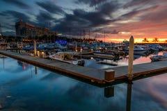 Porticciolo del porto di Sutera Fotografia Stock Libera da Diritti