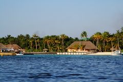 Porticciolo dell'isola Fotografie Stock Libere da Diritti