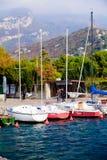 Porticciolo dell'Italia Riva del Garda fotografia stock libera da diritti