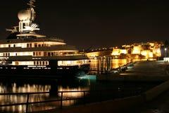 Porticciolo dell'yacht, Vittoriosa e grande porto, Malta Fotografia Stock