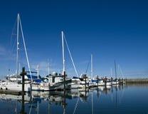 Porticciolo della barca a vela Fotografie Stock
