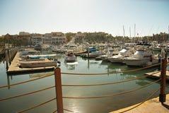 Porticciolo di Cabo San Lucas Fotografia Stock Libera da Diritti