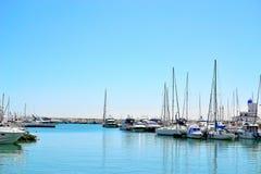 porticciolo di Duquesa della La, Costa del Sol, Spagna Immagine Stock