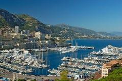Porticciolo di Monte Carlo Fotografia Stock Libera da Diritti