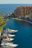 Porticciolo di Monte Carlo Immagine Stock Libera da Diritti