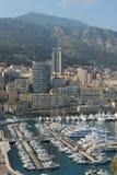 Porticciolo di Monte Carlo in Monaco Fotografia Stock