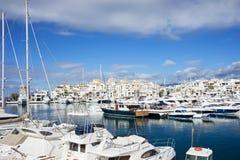 Porticciolo di Puerto Banus Fotografie Stock
