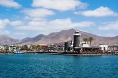 Porticciolo di Rubicon, BLANCA di Playa, Lanzarote Immagini Stock Libere da Diritti