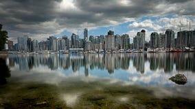 Porticciolo di Vancouver Immagini Stock