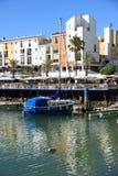 Porticciolo di Villamoura in Algarve Immagine Stock