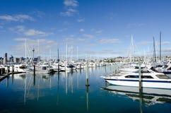 Porticciolo di Westhaven - Auckland Fotografie Stock