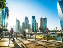 Porticciolo Dubai Fotografia Stock
