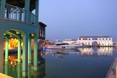 Porticciolo a Limassol Fotografie Stock Libere da Diritti