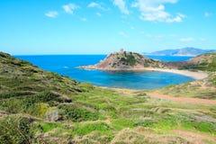 Porticciolo shore on a clear day Stock Photo