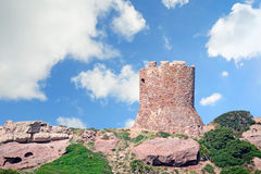 Porticciolo tower Royalty Free Stock Image