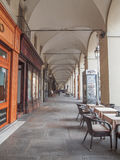 Portici μέσω Po στο Τορίνο Ιταλία Στοκ εικόνες με δικαίωμα ελεύθερης χρήσης