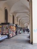 Portici μέσω Po στο Τορίνο Ιταλία Στοκ φωτογραφία με δικαίωμα ελεύθερης χρήσης