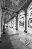 Portici di Savona fotografie stock