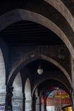 Portici Di Sottoripa, arcade και στοά μέσα μέσω Di Sottoripa Γερμανία Στοκ Εικόνα