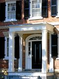 Portico. Elegant porch on an oldfashioned mansion royalty free stock image