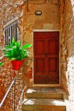 portico Fotografie Stock