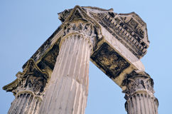Portico antigo Fotografia de Stock