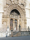 Portico of the Church royalty free stock image