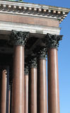 Portico and columns Stock Images