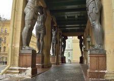Portico come galleria Fotografie Stock Libere da Diritti