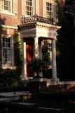 Portico con le colonne bianche Fotografia Stock Libera da Diritti